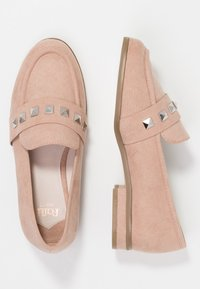 Faith Wide Fit - WIDE FIT WES  - Loaferit/pistokkaat - natural - 3