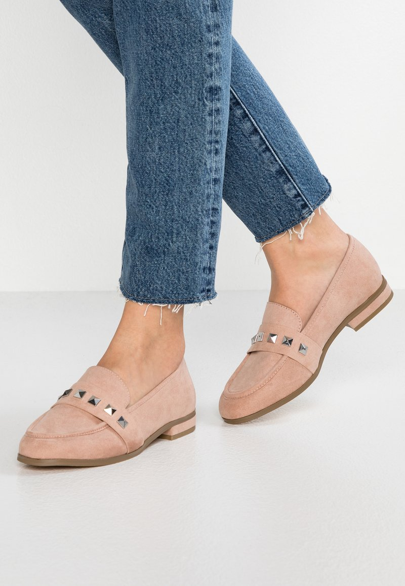 Faith Wide Fit - WIDE FIT WES  - Loaferit/pistokkaat - natural