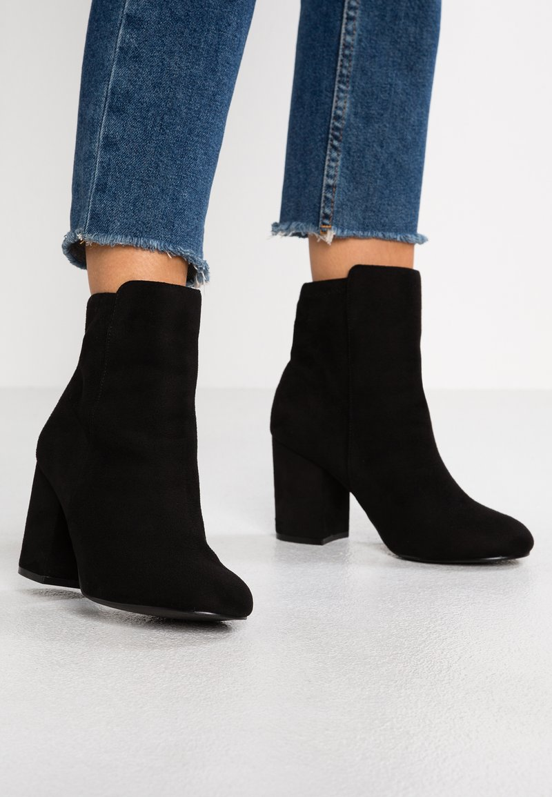 Faith Wide Fit  - WIDE FIT - Classic ankle boots - black