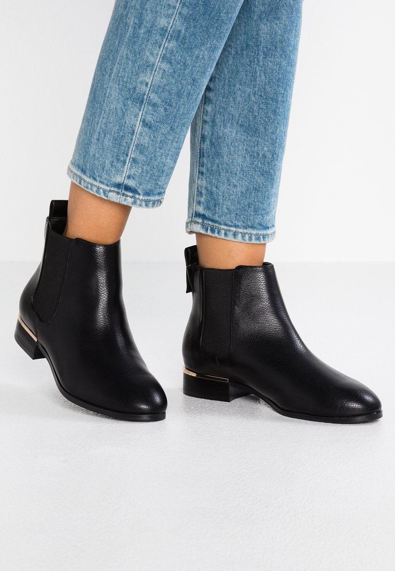 Faith Wide Fit  - WIDE FIT WINK - Ankle boots - black