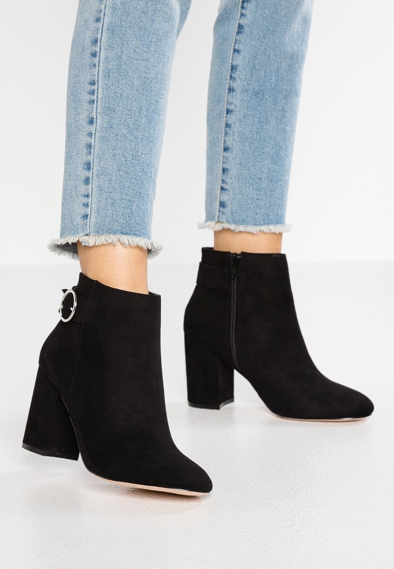 Faith Wide Fit  - WIDE FIT WERYNA - Ankle boots - black