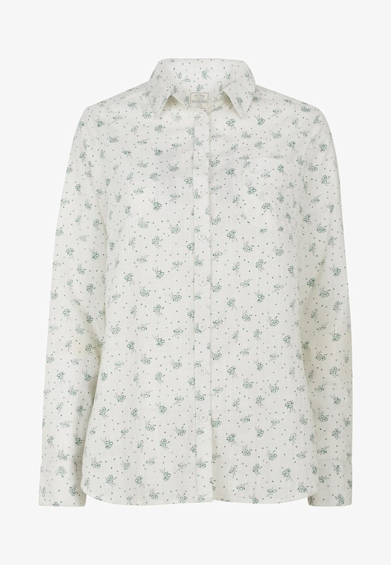 Fat Face - DITSY  - Button-down blouse - off-white