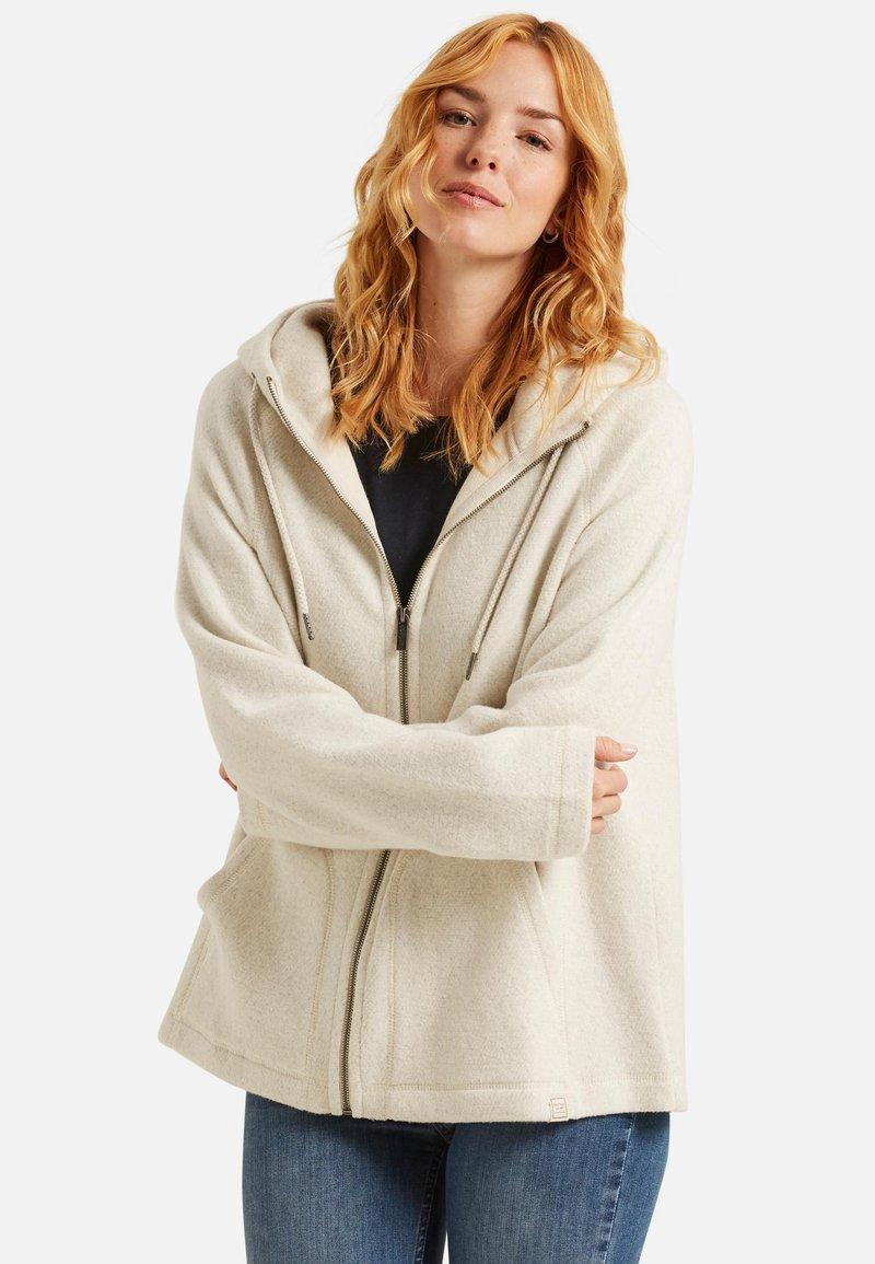 Fat Face - ELLA  - veste en sweat zippée - off-white