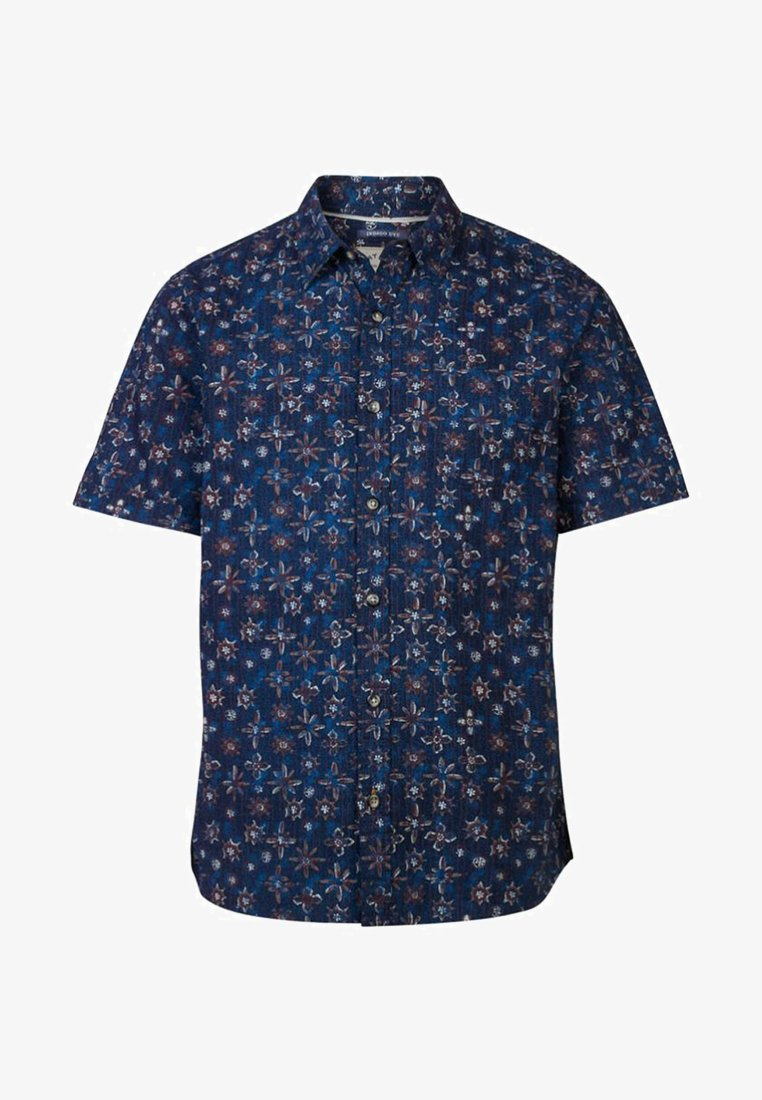 Fat Face - BATIK TILE  - Shirt - blue