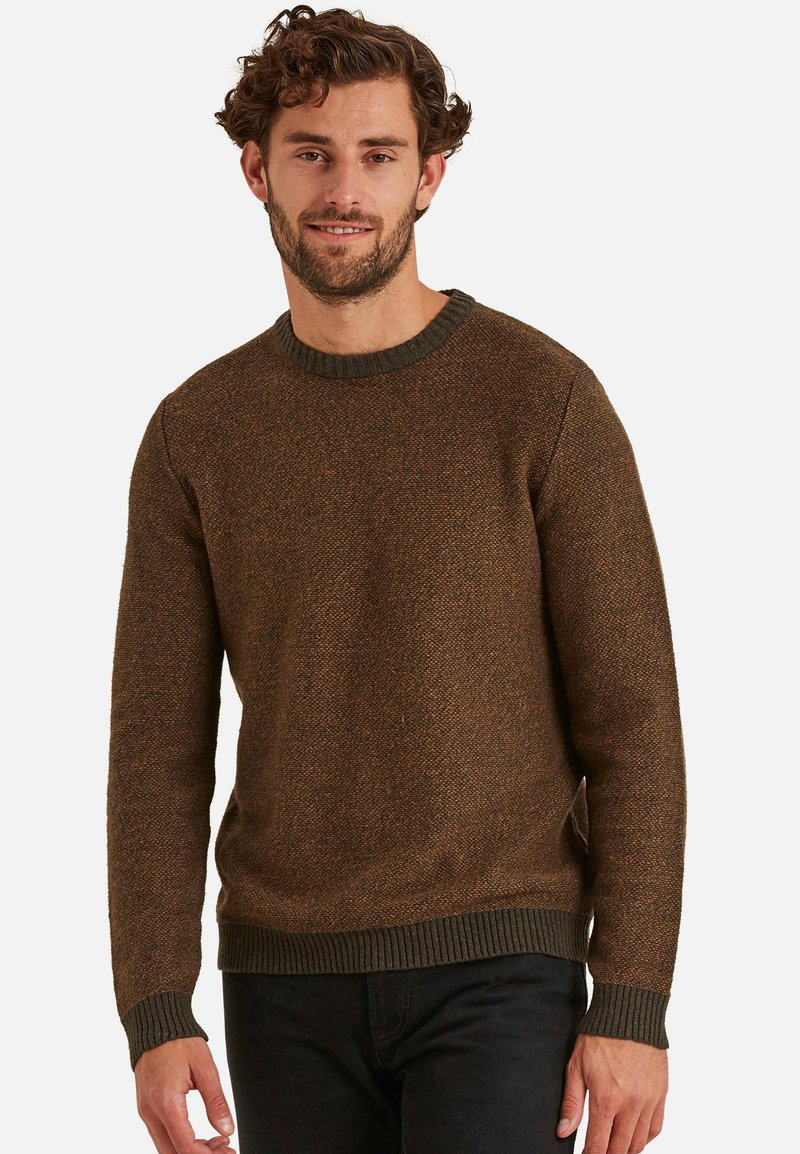 Fat Face - BIRDSEYE - Pullover - brown