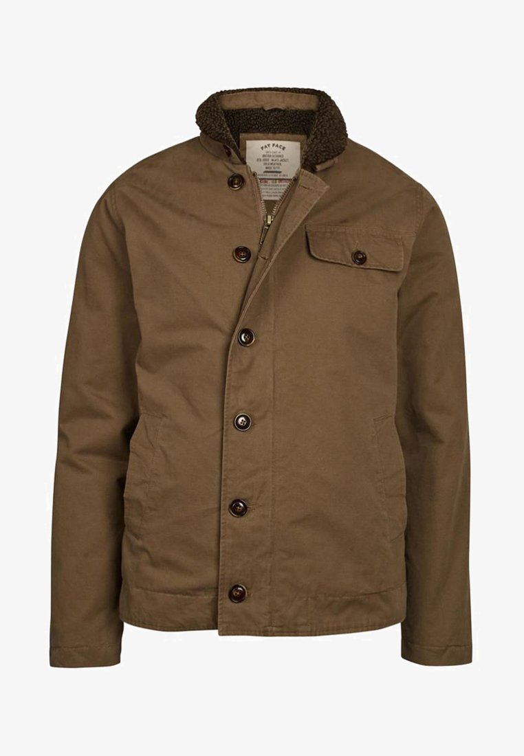 Fat Face - Light jacket - brown