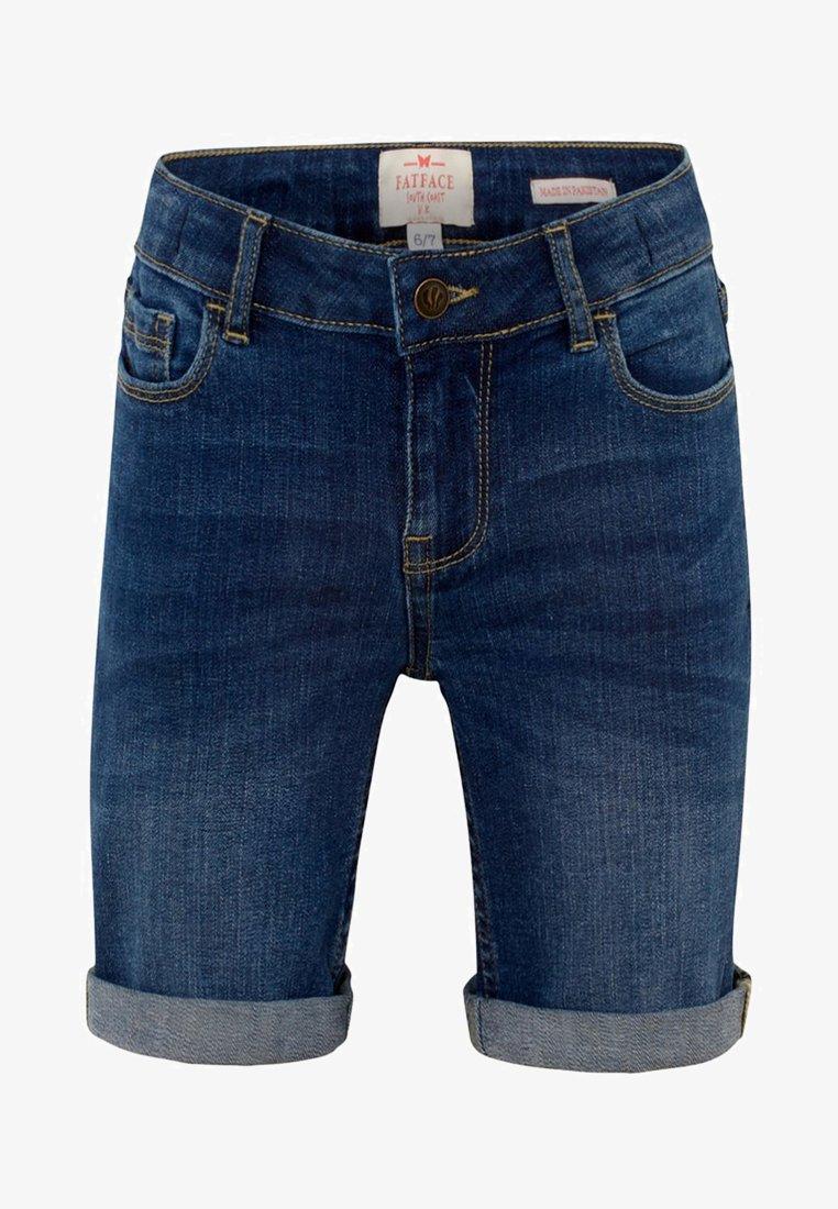 Fat Face - Shorts vaqueros - blue denim