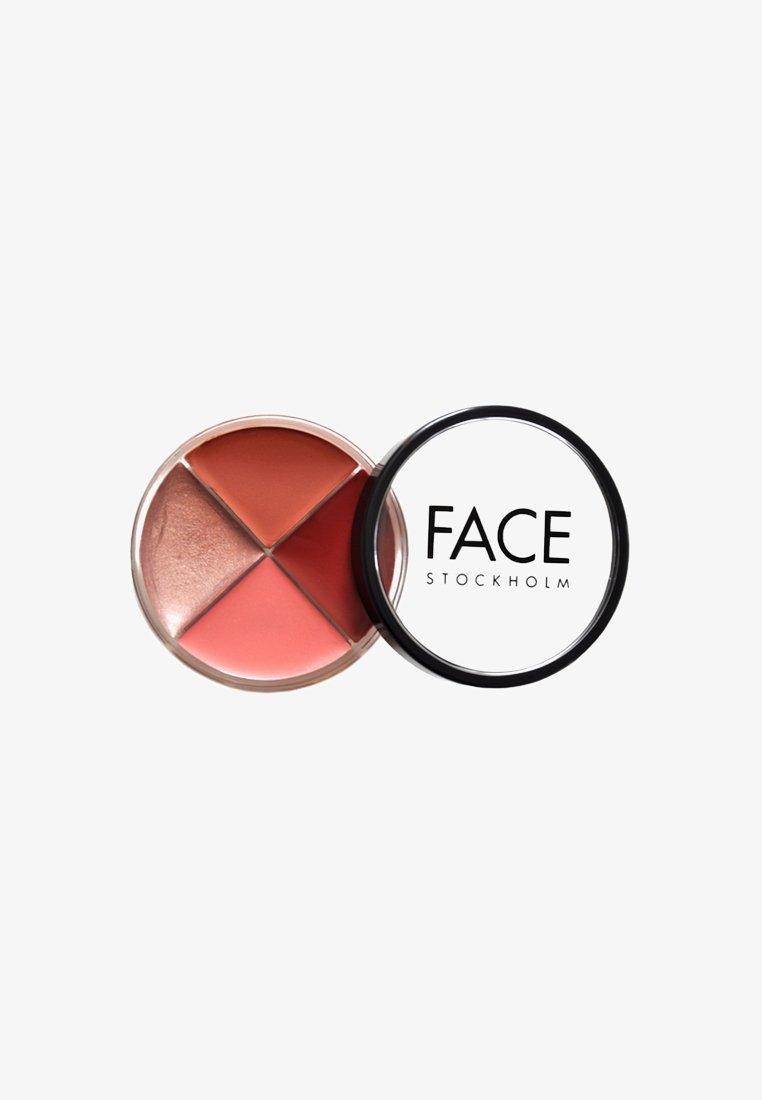 FACE STOCKHOLM - SMART WHEEL - Lip palette - legacy