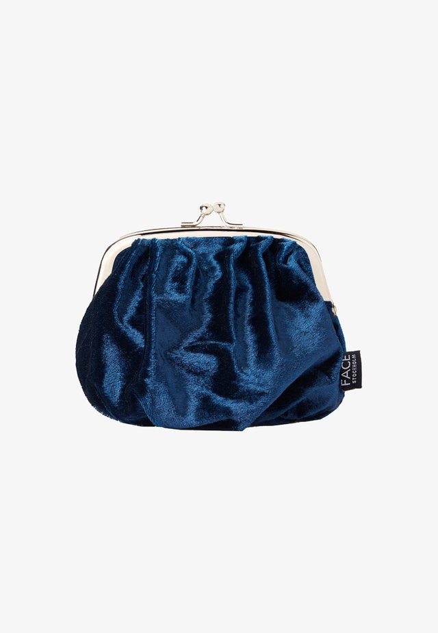 VELVET BAG - Kosmetiktasche - marinblå
