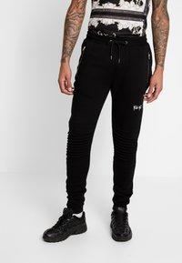 FAKTOR - AMIAS  - Pantalon de survêtement - black - 0