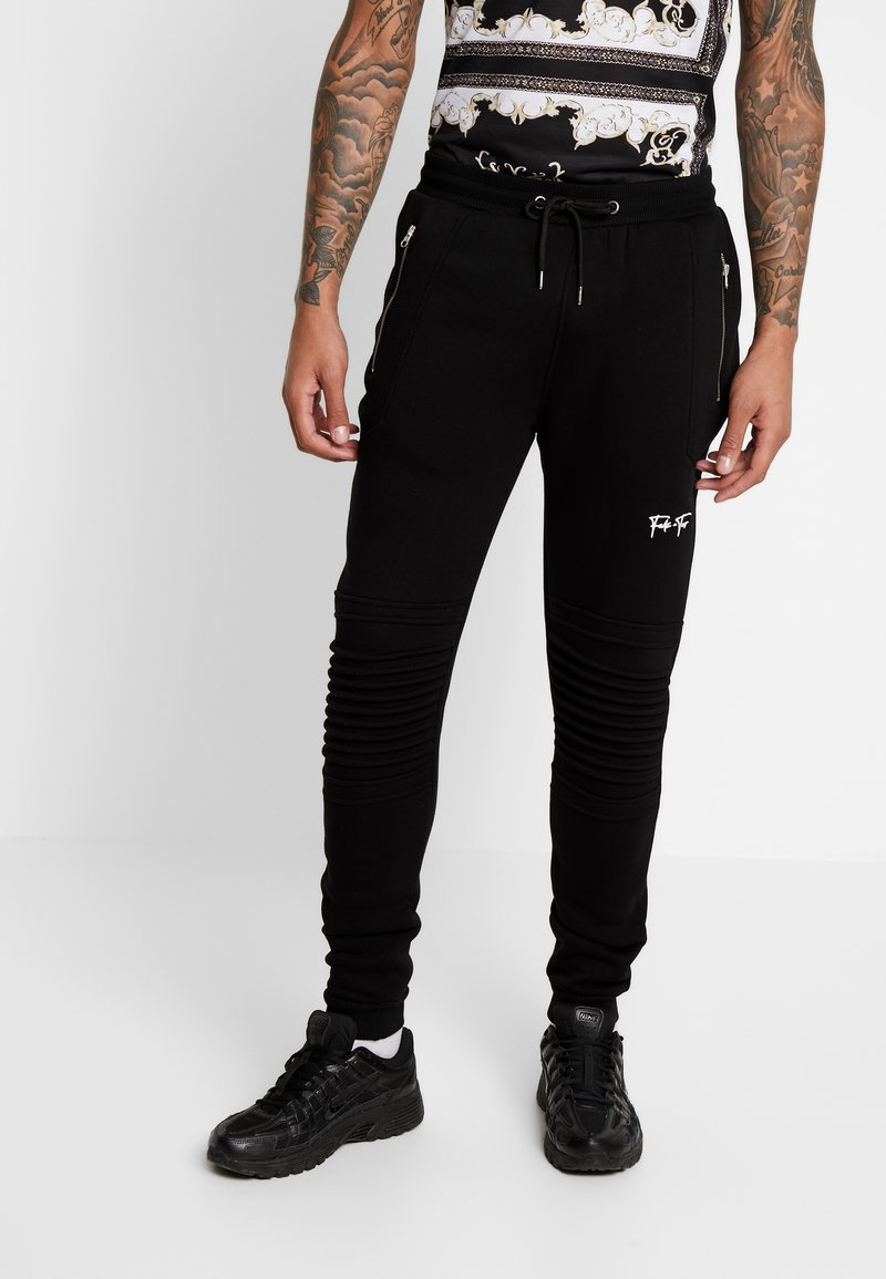 FAKTOR - AMIAS  - Pantalon de survêtement - black