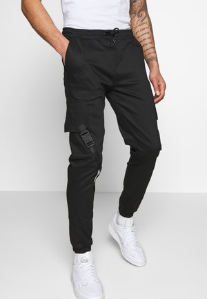 BOTEIN  - Cargo trousers - black