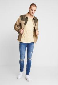 FAKTOR - CRUZ SKINNY JEANS - Jeans Skinny Fit - blue denim - 1