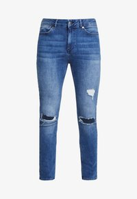 FAKTOR - CRUZ SKINNY JEANS - Jeans Skinny Fit - blue denim - 4