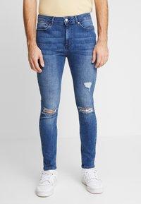 FAKTOR - CRUZ SKINNY JEANS - Jeans Skinny Fit - blue denim - 0