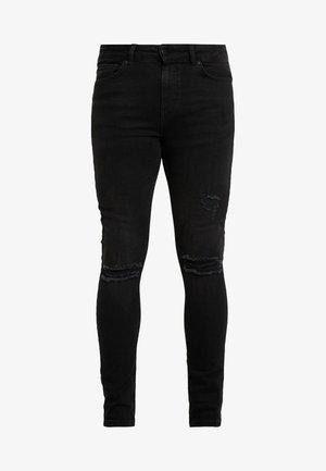 CRUZ - Slim fit -farkut - black wash