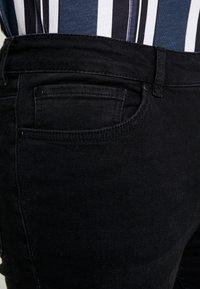 FAKTOR - CRUZ - Slim fit jeans - black wash - 4