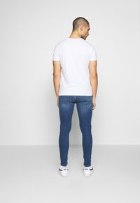 FAKTOR - AMIAS BIKER - Jeans Skinny Fit - blue wash - 2