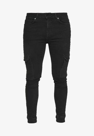 AUVA - Skinny džíny - black