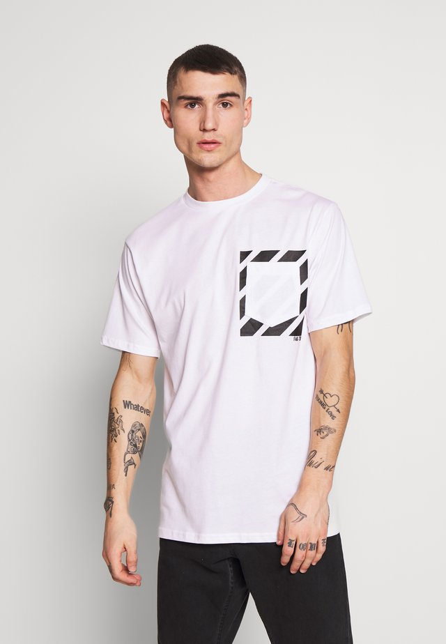 KNOXX TEE - T-shirt med print - white