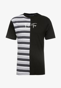 FAKTOR - HARDY TEE - T-shirt con stampa - black - 3