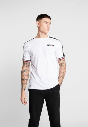 MARSHALL TEE - T-shirt med print - white