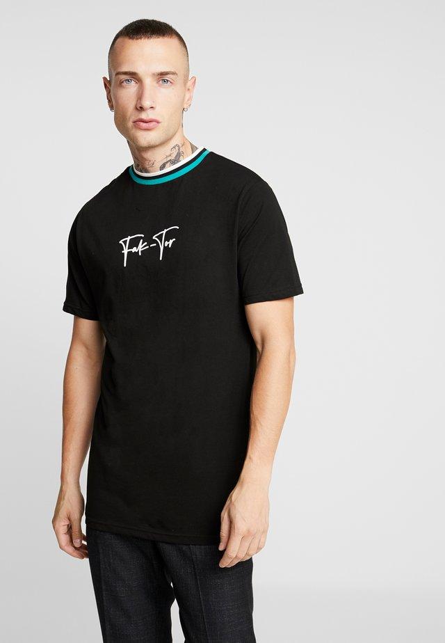 ZANE TEE - Camiseta estampada - black