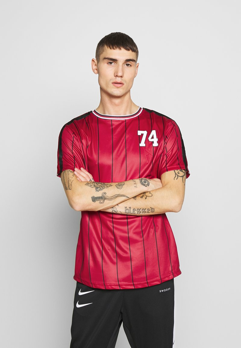 FAKTOR - ACRAB TEE - T-shirt imprimé - red