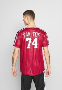 FAKTOR - ACRAB TEE - T-shirt imprimé - red - 2