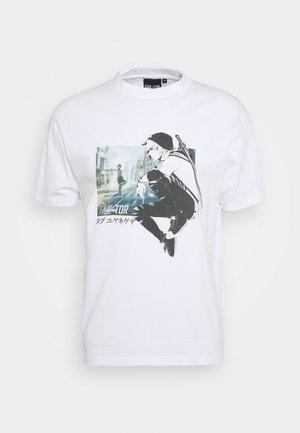 MANGA TEE - Print T-shirt - white