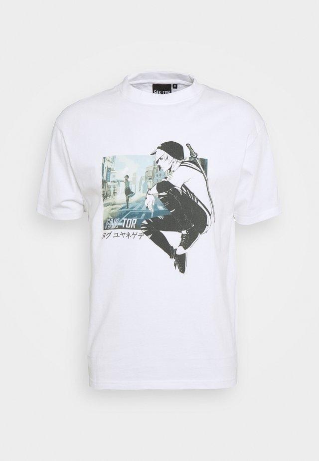 MANGA TEE - T-shirts print - white
