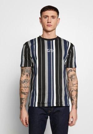 CONVERT TEE - Print T-shirt - navy