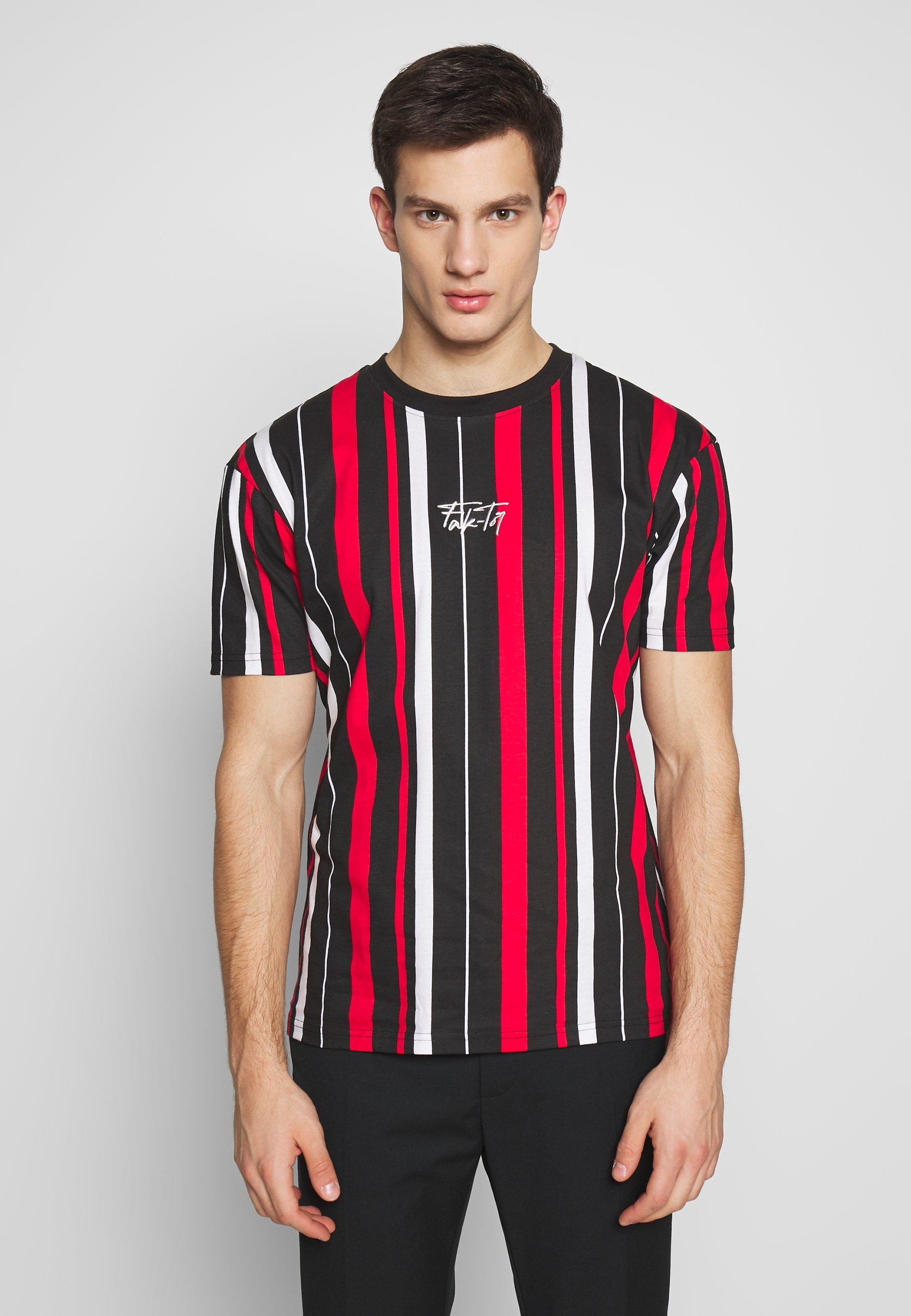 FAKTOR KNOX TEE - T-shirt z nadrukiem - white