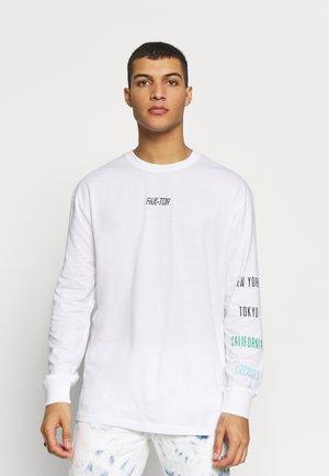 DYNASTY TEE - T-shirt à manches longues - white