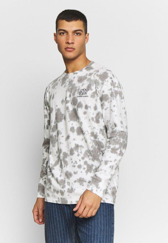 GLOBE TEE - Långärmad tröja - white