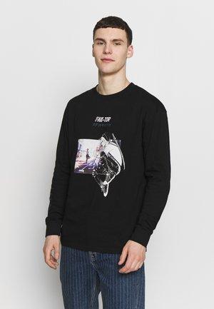 VARES TEE - Long sleeved top - black
