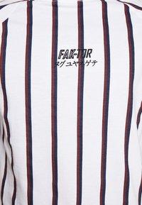 FAKTOR - KOWL TEE - T-Shirt print - white - 4
