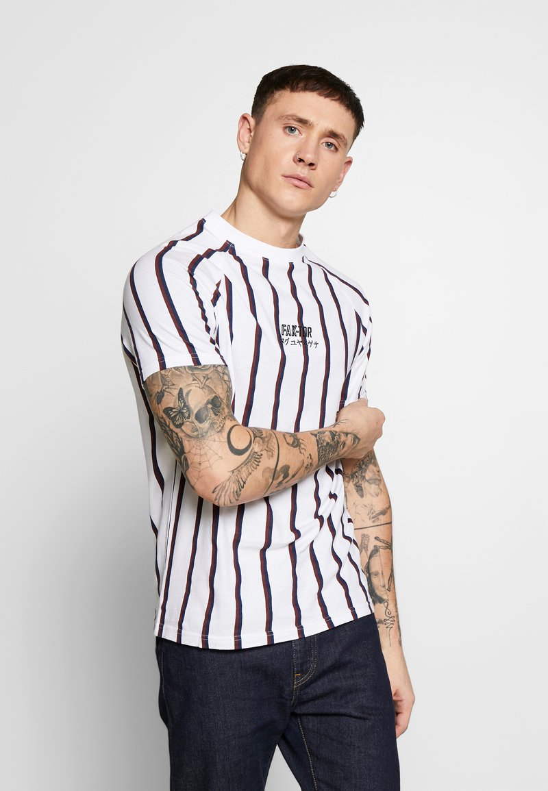 FAKTOR - KOWL TEE - T-Shirt print - white