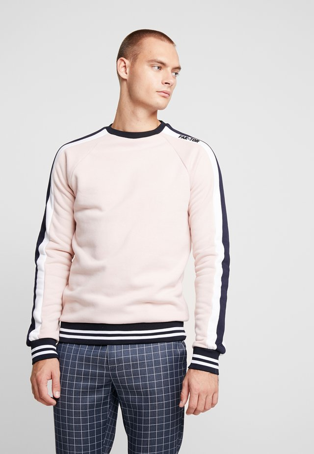 DUSK CREW - Sweatshirts - pink
