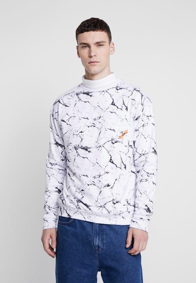 STORM CREW - Sweatshirt - white