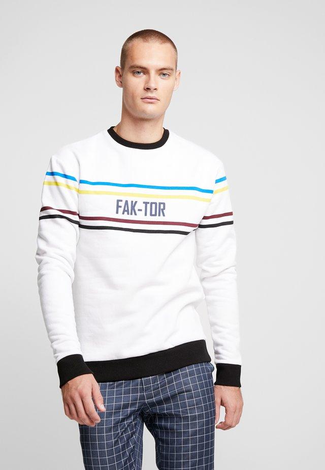 KIRO CREW - Sweatshirt - white