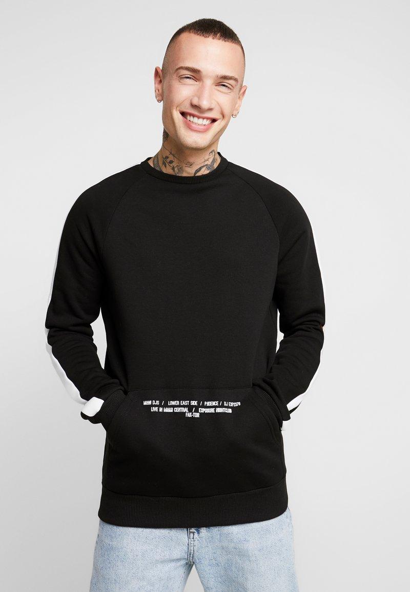 FAKTOR - DANTE CREW - Sweatshirt - black