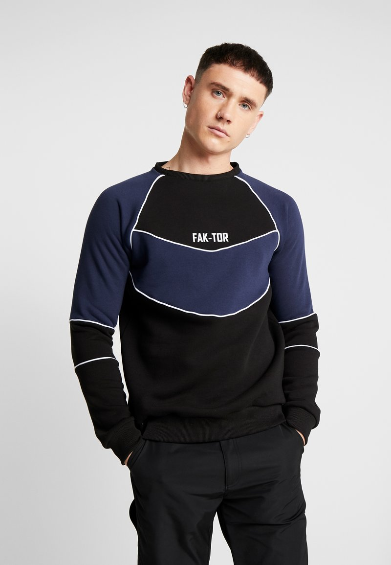 FAKTOR - ANDERS CREW - Sweatshirt - navy