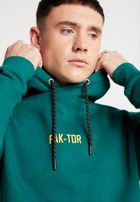 FAKTOR - EMMETT HOOD  - Sweat à capuche - green - 5