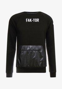 FAKTOR - JAX CREW - Sweatshirt - black - 4