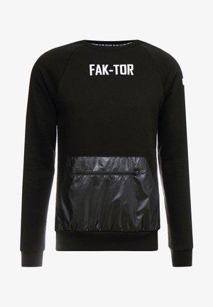 JAX CREW - Sweatshirt - black