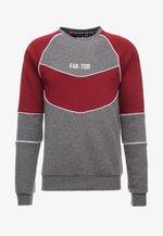 ANDERS CREW - Sweater - burgundy