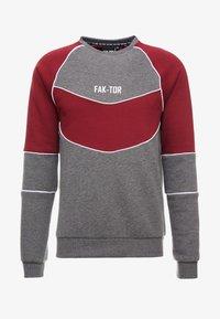 FAKTOR - ANDERS CREW - Sweatshirt - burgundy - 3