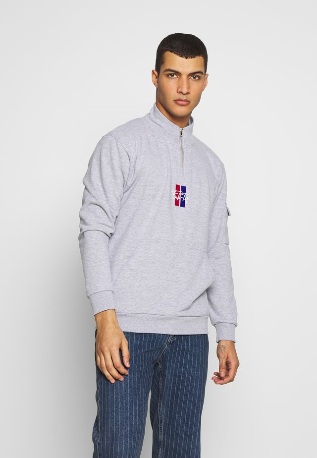 TOBY FUNNEL  - Sweatshirt - grey marl