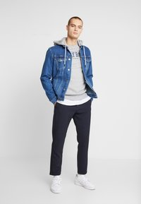 FAKTOR - DAEL JACKET - Spijkerjas - blue denim - 1